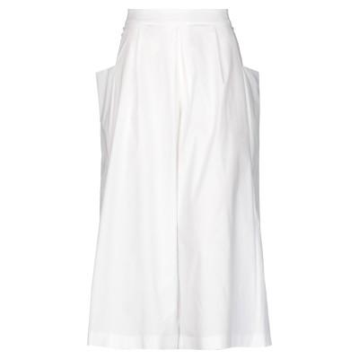 PRE'T A PORTE'R® パンツ ホワイト 38 コットン 98% / ポリウレタン 2% パンツ