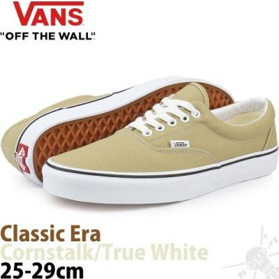 バンズ エラ チェック Vans Classic Era Cornstalk/True White スケボー スケート スケートボード シューズ メンズ 靴 ブランド US企画 スケシュー 人気のUSA版