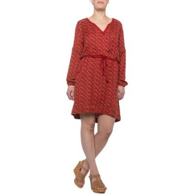 マウンテンカーキス Mountain Khakis レディース ワンピース ワンピース・ドレス Harvest Dress - Long Sleeve Brick Print