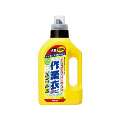 作業衣専用洗剤ジェル 本体 800ml  230139   カネヨ石鹸