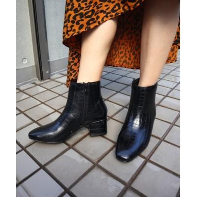 FABBY FABBY. / シンプルショートブーツ WOMEN シューズ > ブーツ