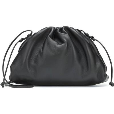 ボッテガ ヴェネタ Bottega Veneta レディース クラッチバッグ バッグ The Mini Pouch leather clutch Nero/Silver