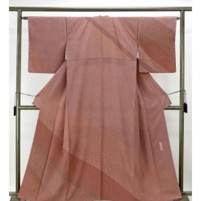 訪問着 正絹 伝統工芸伝承者彫刻 六谷博臣 訪問着 リサイクル 着物