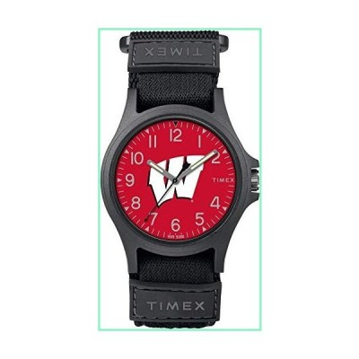 Timex ウィスコンシン大学 バッジャーズ メンズウォッチ 調節可能なストラップウォッチ【並行輸入品】