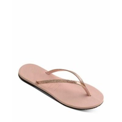 ハワイアナス レディース サンダル シューズ Women's You Shine Thong Sandals Ballet Rose