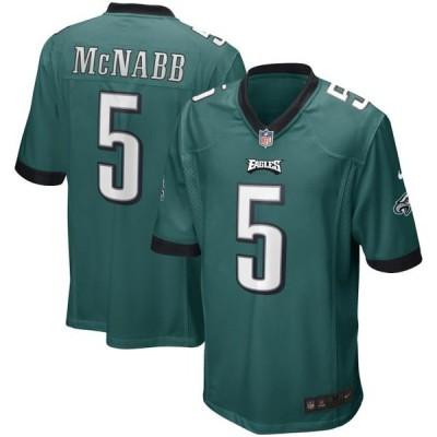 ユニセックス スポーツリーグ フットボール Donovan McNabb Philadelphia Eagles Nike Game Retired Player Jersey - Midnight Green