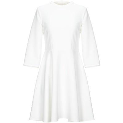 VICOLO ミニワンピース&ドレス アイボリー M ポリエステル 88% / ポリウレタン 12% ミニワンピース&ドレス