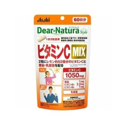アサヒグループ食品 ディアナチュラ スタイル ビタミンC MIX 約60日分 120粒