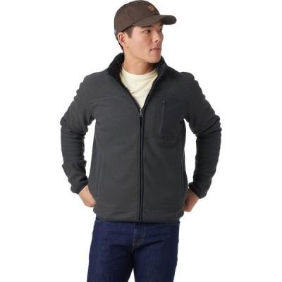 ストイック メンズ ジャケット・ブルゾン アウター Mix Media Full-Zip Sherpa Jacket