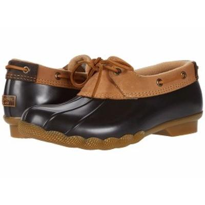 スペリー レディース ブーツ&レインブーツ シューズ Saltwater 1-Eye Duck Boot Tan/Brown