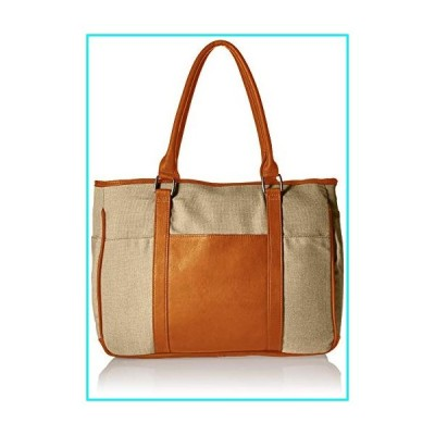 Piel Leather Small Shopping Bag, Saddle, One Size【並行輸入品】