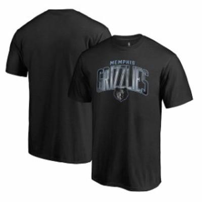 Fanatics Branded ファナティクス ブランド スポーツ用品  Fanatics Branded Memphis Grizzlies Black Arch Smoke T-Shirt