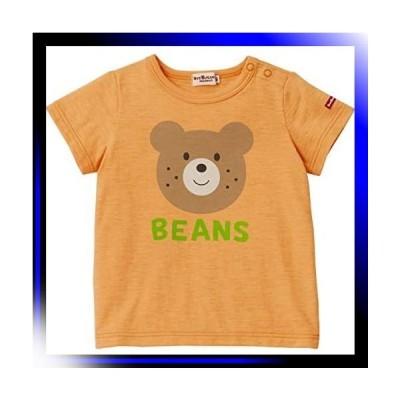 70/オレンジ ミキハウス ホットビスケッツ Tシャツ 72-5203-825