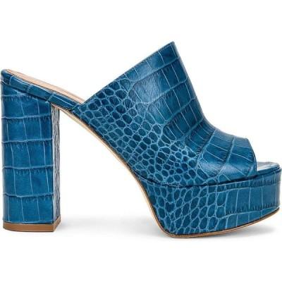 パリ テキサス Paris Texas レディース サンダル・ミュール シューズ・靴 moc croco platform mule Oceano