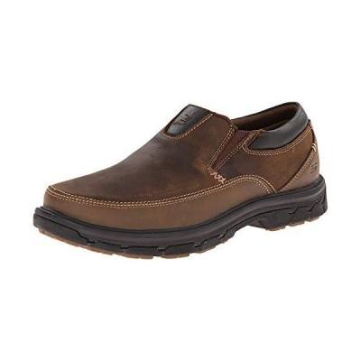 Skechers Men's Segment The Search Slip On Loafer,Dark Brown,7.5 M US
