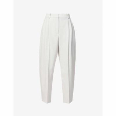 ステラ マッカートニー STELLA MCCARTNEY レディース ボトムス・パンツ Dawson Tapered Mid-Rise Wool Trousers