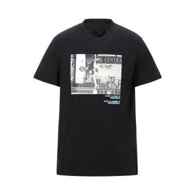 ラグアンドボーン RAG & BONE T シャツ ブラック S コットン 100% T シャツ