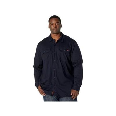 ティンバーランド Extended FR Cotton Core Button Front Shirt メンズ シャツ トップス Navy