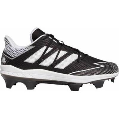 アディダス メンズ スニーカー シューズ adidas Men's adizero Afterburner 7 Pro TPU Baseball Cleats Black/White