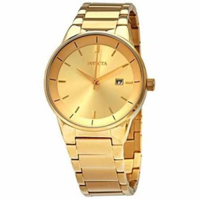 腕時計 インヴィクタ インビクタ Invicta Specialty Quartz Gold Dial Men's Watch 29476