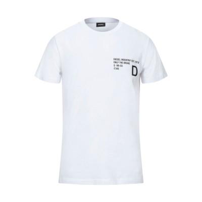 ディーゼル DIESEL T シャツ ホワイト XXL コットン 100% T シャツ