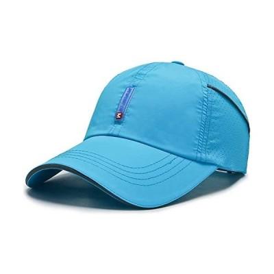 Croogo-メッシュ帽-日よけ野球帽-通気性抜群-G-CP18-レイクブルー