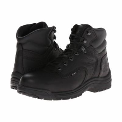 ティンバーランド Timberland PRO メンズ ブーツ シューズ・靴 TITAN 6 Alloy Safety Toe Blackout Full-Grain Leather