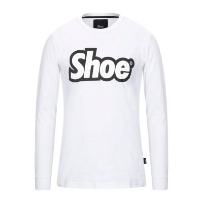 SHOESHINE T シャツ ホワイト M コットン 100% T シャツ
