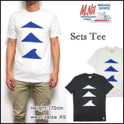 M.Nii エム ニーイ Tシャツ メンズ SETS Tee ポケットT  エムニー M01076