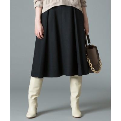 【アルアバイル/allureville】 ツイルジャージカラースカート
