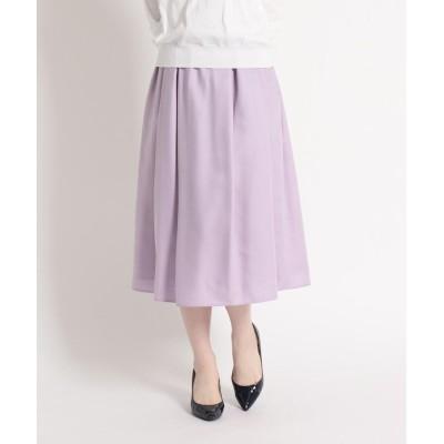 SunaUna(スーナウーナ) アンスパンローンギャザースカート