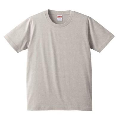 Tシャツ 半袖 キッズ 子供服 レギュラーフィット 5.0oz 160 サイズ オートミール 無地 ユナイテッドアスレ CAB
