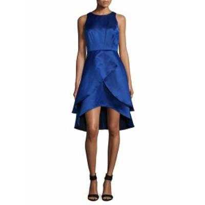 ショーシャンナ レディース ワンピース Embellished Tiered High Low Dress