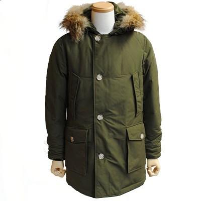 【size M】 WOOLRICH ウールリッチ WO1674 FLINT OLIVE ダウンコート ARCTIC PARKA DF アークティック パーカ メンズ