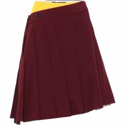 カルバンクライン Calvin Klein 205W39NYC レディース スカート Pleated skirt Acajou Daffodil