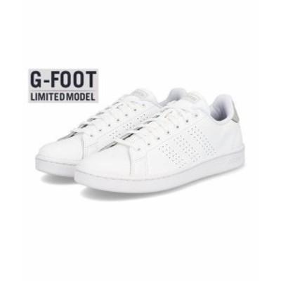 adidas アディダス ADVANCOURT LEA U メンズスニーカー(アドバントコートLEAU) FV8491 [GF] フットウェアホワイト/フットウェアホワイト/