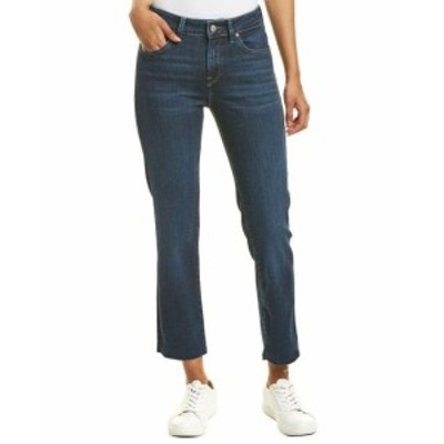 Mavi Jeans マビジーンズ ファッション パンツ Mavi Jeans Niki Deep Frayed Tribeca High-Rise Straight Crop 25/27