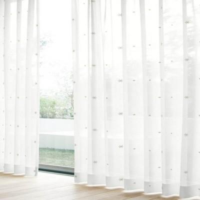 レースカーテン セフィ ベージュ(1枚) 巾100cm×丈103cm