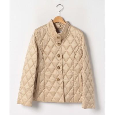 【レリアン】 キルティング中わたジャケット レディース ベージュ系 11 Leilian