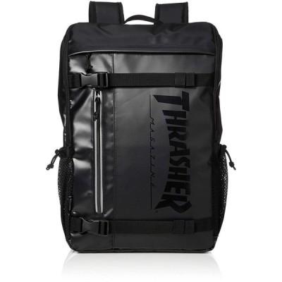 スラッシャー リュックサック スクエアリュック THRTPシリーズ THRTP504 BLACK/BLACK ブラック/ブラック