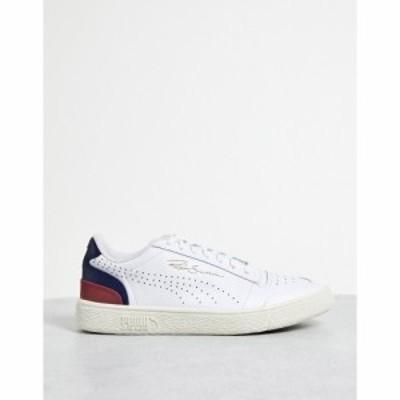 プーマ Puma メンズ スニーカー シューズ・靴 Ralph Sampson Lo Perf Soft trainers in white and blue ホワイト