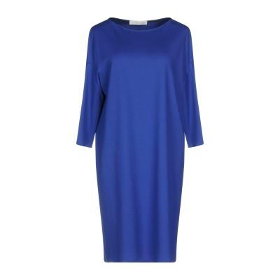 ハリス・ワーフ・ロンドン HARRIS WHARF LONDON ミニワンピース&ドレス ブルー 42 レーヨン 77% / ナイロン 20% /