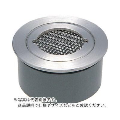 カクダイ VP・VU兼用ステンレス防虫目皿(接着式) ( 4247-50 ) (メーカー取寄)
