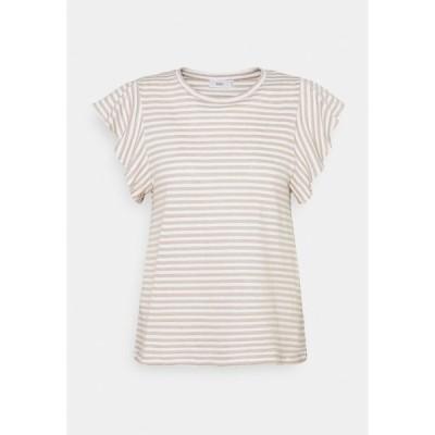 クローズド Tシャツ レディース トップス WOMENS  - Print T-shirt - shiitake