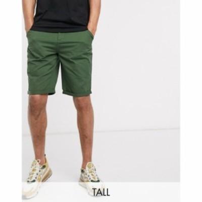 ル ブレーブ Le Breve メンズ ショートパンツ ボトムス・パンツ Tall Chino Short カーキ