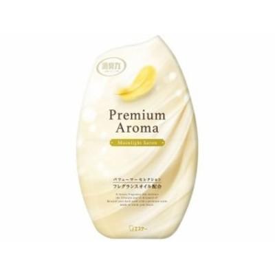 お部屋の消臭力 Premium Aroma ムーンライトシャボン400ml エステー