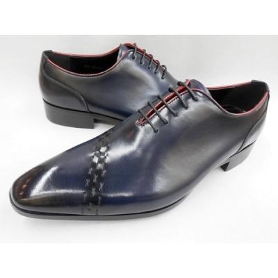 アントニオ ドゥカティ レッドライン ホールカット DC1292(ネイビー) ANTONIO DUCATI メンズ靴