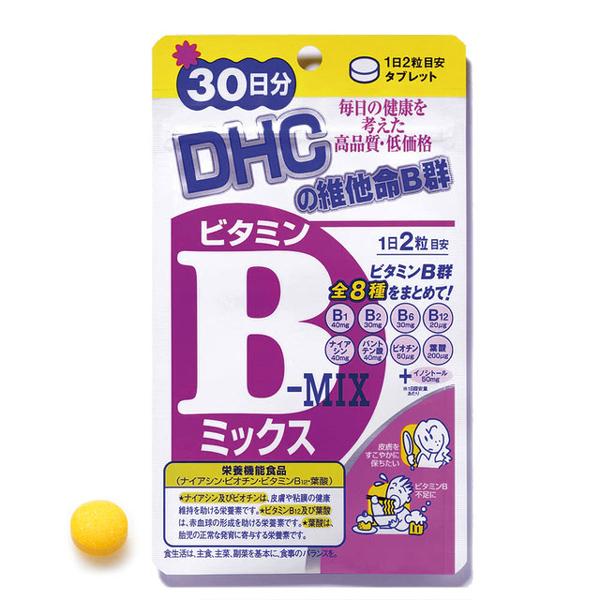 DHC維他命B群(30日份)
