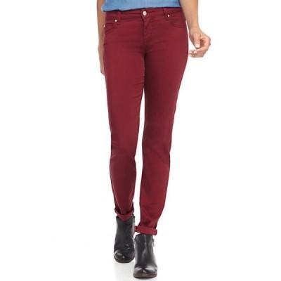 セレブリティピンク レディース デニムパンツ ボトムス Junior's Mid Rise Color Skinny Jeans
