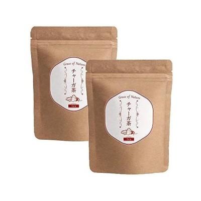 Grace of Nature(グレイスオブネイチャー) チャーガ茶 ティーパック 3g×30包入 ロシア産 (2個セット) (2個セット)